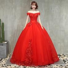 Красные Бальные платья с открытыми плечами, аппликации из бисера, вечерние платья, Пышное Бальное Платье, Vestido Quinceanera
