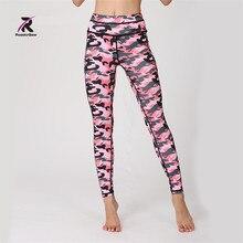 Womens Pleated Mesh Compression Yoga pants