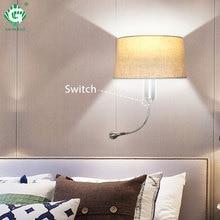 Modern Wall Light E27 LED Lamp Indoor For Bathroom Living Room Hotel Bedroom Night Lighting Loft Decorative Sconce