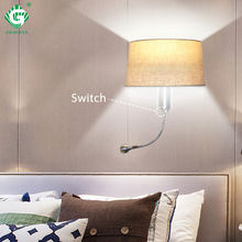 Modern Wall Light E27 LED Wall Lamp Indoor For Bathroom Living Room Hotel Bedroom Night Lighting Loft Light Decorative Sconce(China)