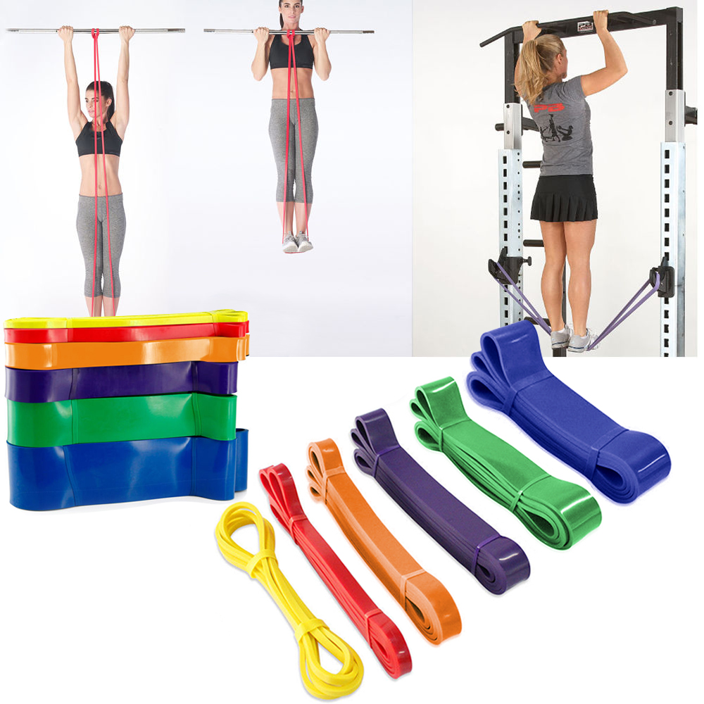 Купить с кэшбэком Elastic Resistance Band Pilates Workout Strength Training Chest Expander Fitness Equipment Training Expander Unisex EquipmentD25
