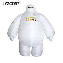 Halloween Fuuny Big Hero 6 Adults Inflatable Baymax Costume 2m Tall Fancy Suit Mascot Cosplay Outfit for Christmas