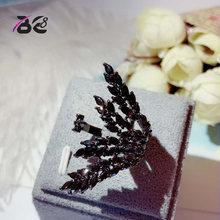 Женские кольца с черным покрытием be 8 ювелирные изделия кубическим