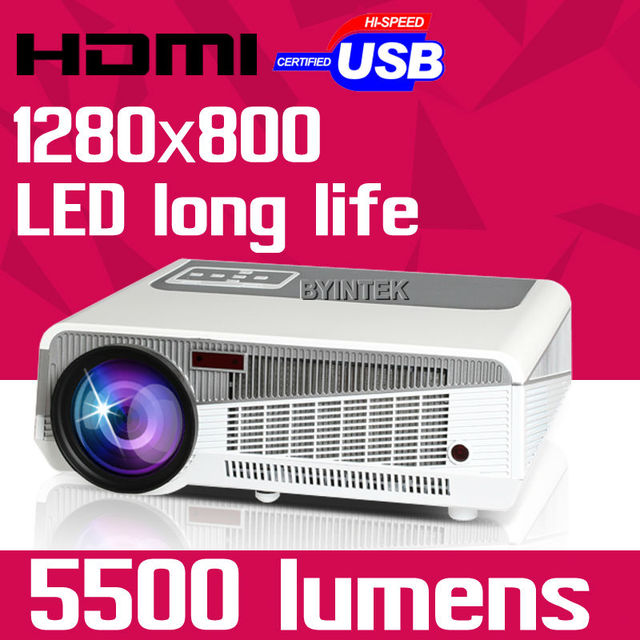 2016 New Home Theater Movie Cinema Video PC Laptop HDMI USB LCD LED Projector FUll HD 1080P Beamer Proyector Projetor