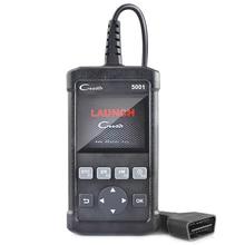Launch Creader CR5001 ODB2 OBD2 Autos scanner Support Multi-language Automotive Scanner For VW/BMW/ BENZ Car Diagnostic Scanner
