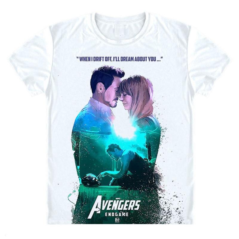57daa6981ad Avengers Endgame T Shirt Avengers Endgame Avengers Infinity War Part II T-Shirt  Avengers 4 Tee Shirt Iron Man Tony Stark Tshirt