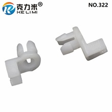 KE LI MI Short Door Lock Rod Fastener White Nylon Replacement Vehicle Interior Accessories