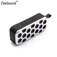 LeeSound Honeycomb Aluminum Portable Wireless Bluetooth Speaker Support TFCard MP3 FM Radio Subwoofer Sound Box for jbl iphone