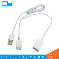 Micro USB 3 0 OTG Host Flash Disk Cable With USB Power For IBM Lenovo Thinkpad