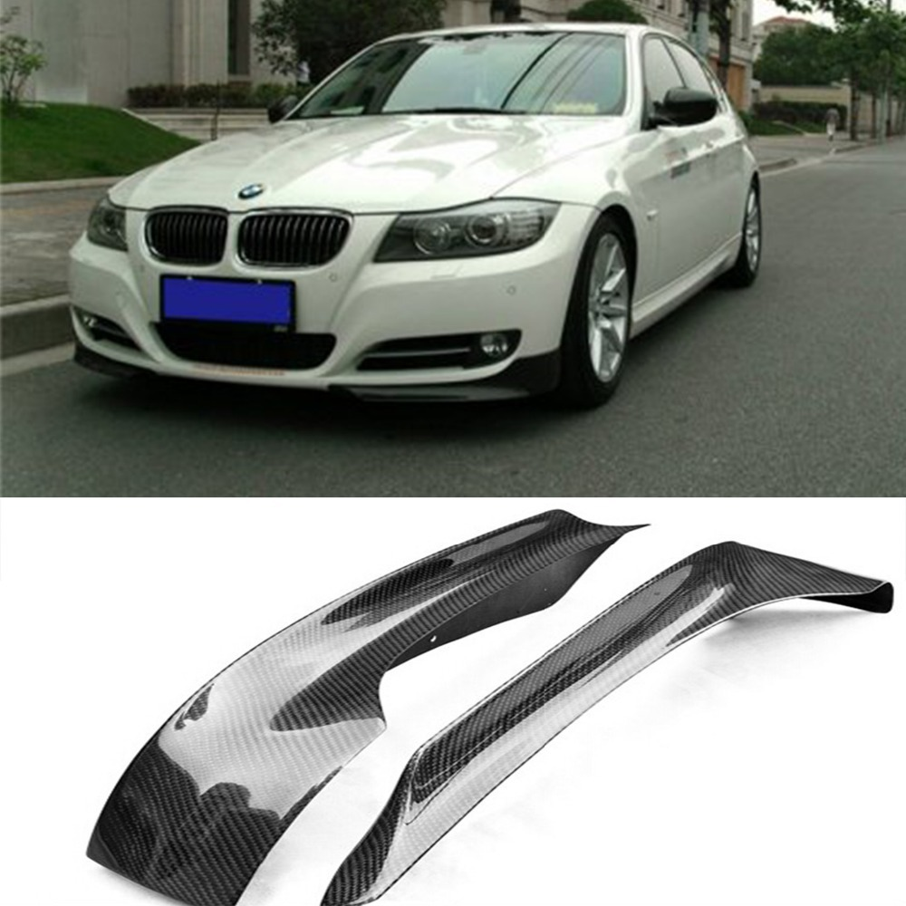 auto carbon fiber front splitter aprons flaps fit for bmw. Black Bedroom Furniture Sets. Home Design Ideas