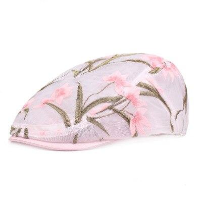 Retro Flowers Mesh Cap...