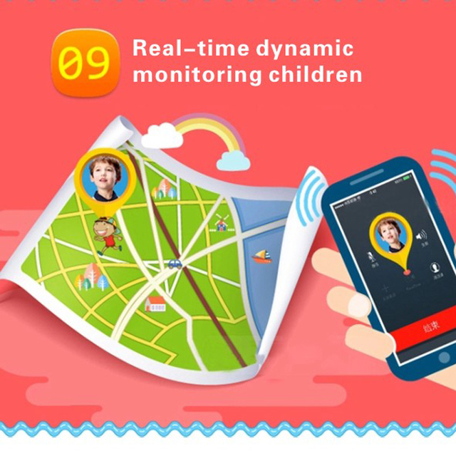 Newest Q50 Kids Smart Wristwatch Kid Safe GPS Track Smart Watch SOS Call Location Finder Locator Tracker Baby Anti Lost Monitor 6