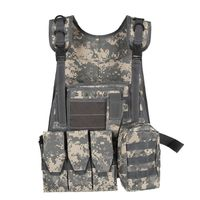 Hunting Outdoor Equipment Military Tactical Vest Wargame Body Molle Armor Hunting Camouflage Vest CS