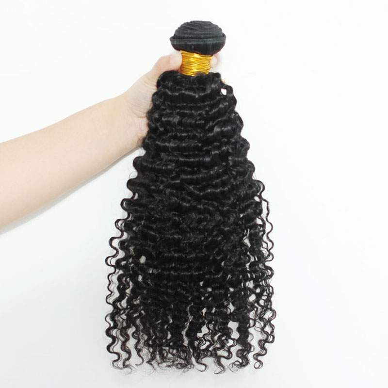 3B3C Kinky Curly Brazilian Hair Weave Bundles Remy 100% Human Hair Extensions Natural Color Sunny Queen Hair Products