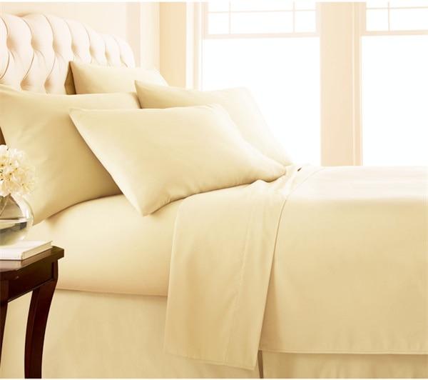 Luxury High Thread Count Egyptian Quality E Deep Pocket Bed Sheet Set 49