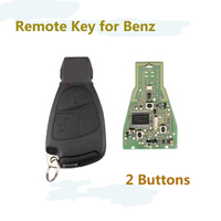 2Buttons 433.9Mhz Complete Remote Key For Mercedes Benz C E ML Class 1999 2010 With Blade