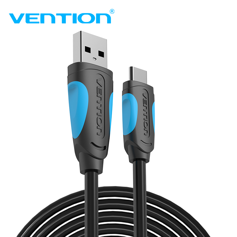 Vention USB C Cable Type 3A 3.1 Fast Charging USB-C Data Type-C for Samsung Huawei ZUK LG Xiaomi 1m
