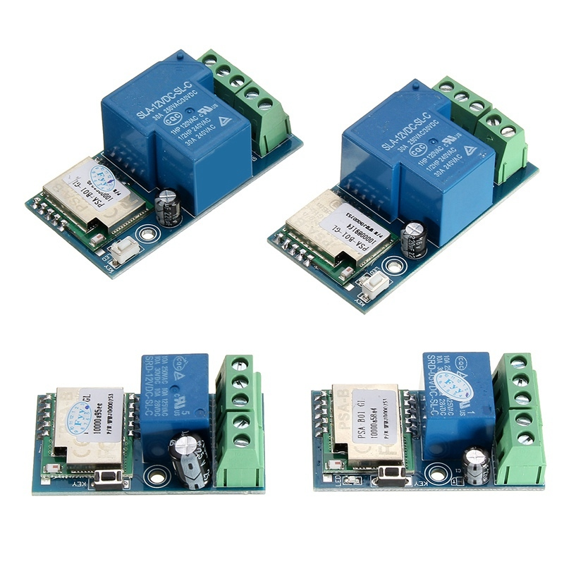 High Quality Smart Home Wireless Wifi Relay Switch Module Mobile Phone Control Timer DC12V Self-Lock Mode/Jog Mode Relay Module esp 07 esp8266 uart serial to wifi wireless module