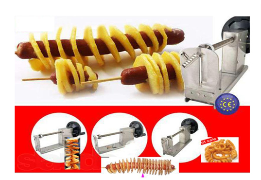Potato Machine Hand Stretch Potato Tower Machine Slicer Kitchen Tool Vegetables Spiral Yam/radish/cucumber/sweet Potato/taro