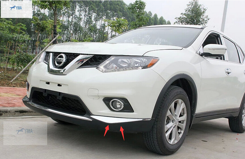 For Nissan Rogue 2014 2015 2016 / X Trail T32 2014 2015 2016 ABS Front  Bumper Corner Protector Cover Trim From Reliable Nissan Rogue 2015  Accessories ...