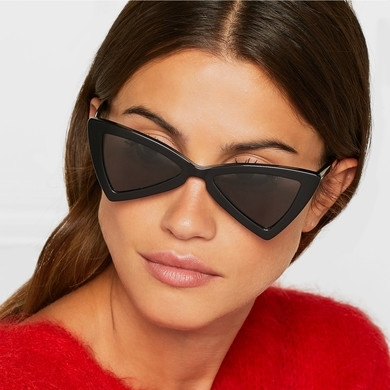 Small Triangle Cat Eye Sunglasses Women Fashion Vintage Cat Eyeglasses Female 2018 Stylish Sun Glasses UV400 Goggles Islamabad