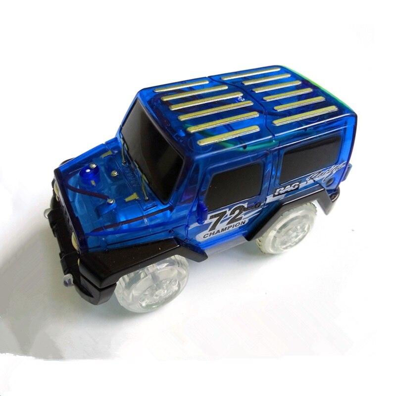 Dropshipping-LED-light-up-Car-Flashing-Lights-Educational-Toys-For-Children-Boys-Birthday-Gift-DIY-Magic-Track-Toy-cars-3