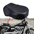 Free Shipping Motorcycle seat Rear Passenger Seat Pillion Cushion For Harley Sportster 883 883C 883N XL1200 Iron Nightster 1200