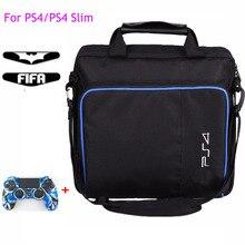 Voor PS4/PS4 Pro Slim Game Sytem Tas Originele grootte Voor PlayStation 4 Console Beschermen Schouder Draagtas Handtas canvas Case