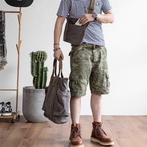 Image 2 - AETOO فصل تصميم الفرعية الأم حقيبة قماش قنب حزمة من المزدوج الاستخدام الذكور مائل تحمل سعة كبيرة حقيبة خاصة