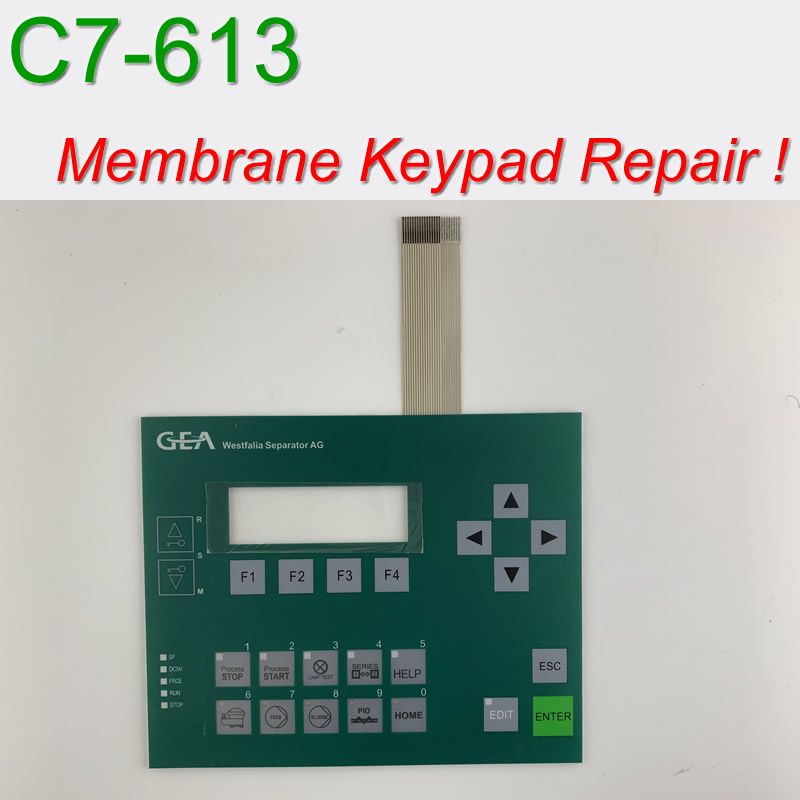 6ES7 613-1CA00-8EA0 C7-613 Membrane Keypad & Shell for SIMATIC & GEA HMI Panel repair~do it yourself, Have in stock