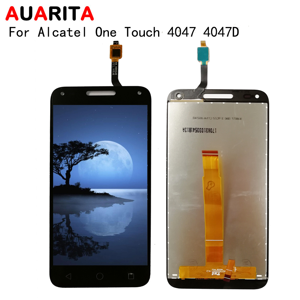 For <font><b>Alcatel</b></font> One Touch U5 3G 4047 <font><b>4047D</b></font> 4047G OT4047 OT4047D OT4047G OT 4047 <font><b>LCD</b></font> Display Touch panel Screen Digitizer Assembly image