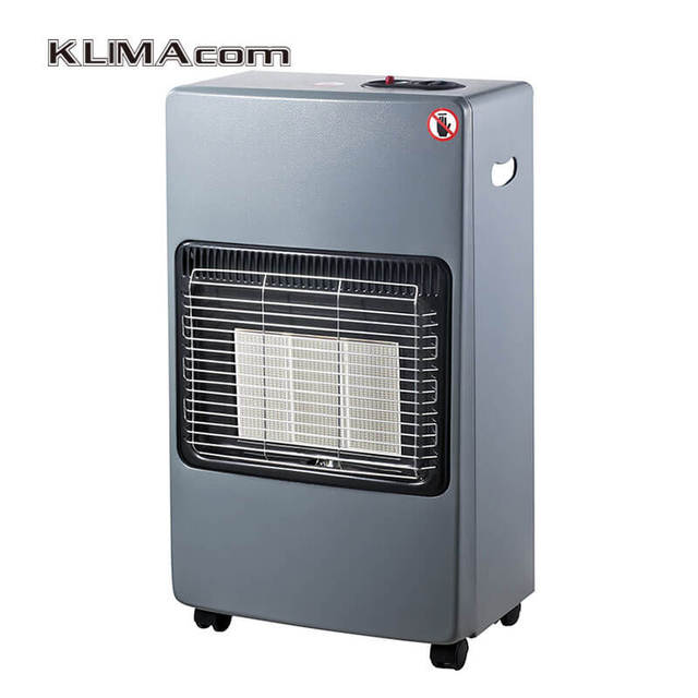 Indoor Gas Heater Ceramic Tile Blue Flame Infrared Room
