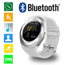 Bluetooth Smart Watch Y1 Smartwatch Relogios Invictas 2G GSM SIM App Sync Mp3 for Apple iPhone HTC Xiaomi Android Phone PK DZ09