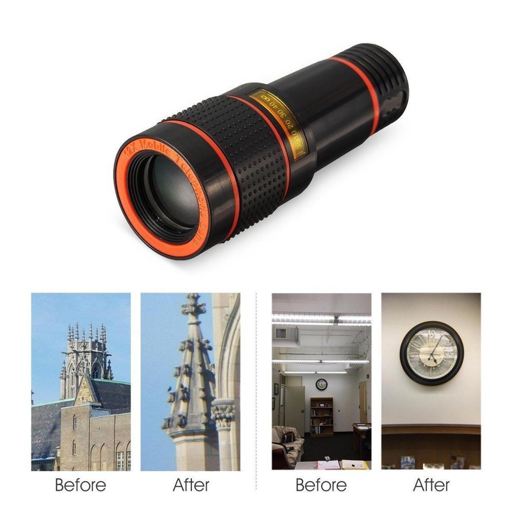 Untuk Kit Lensa Kamera Universal, Ponsel Teleskop Zoom-on Dilipat - Aksesori dan suku cadang ponsel - Foto 3