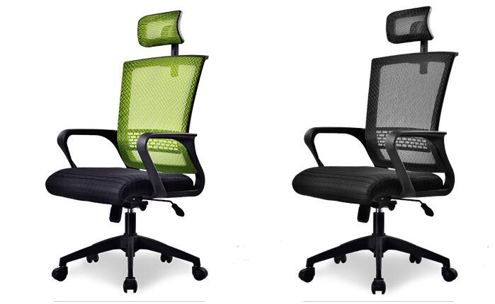 Free shipping computer chair.. Net cloth chair swivel chair home office. the silver chair