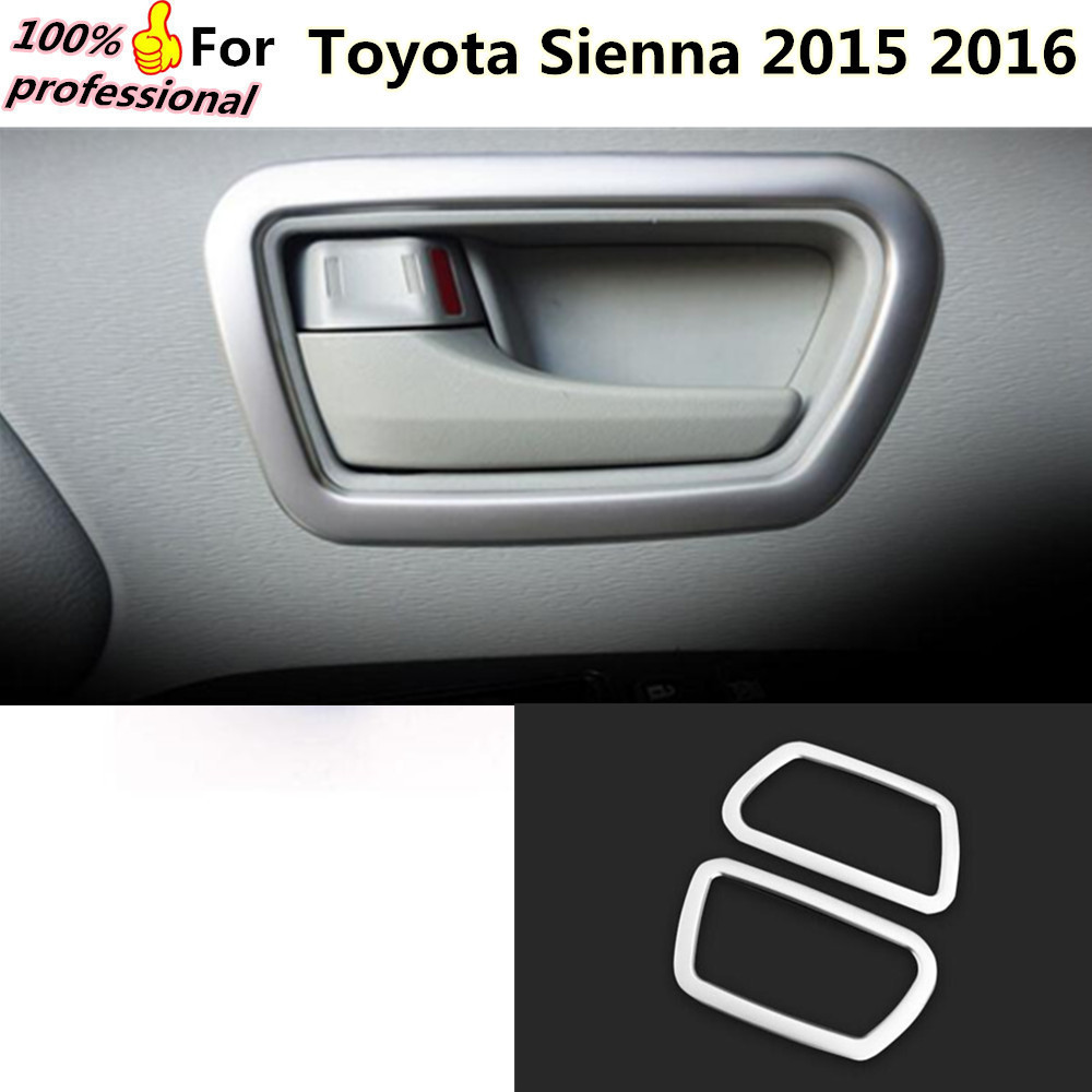 Toyota Sienna 2010-2018 Owners Manual: Front doors