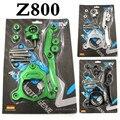 Verde CNC Steering Damper Motocicleta com suporte Suport Para kawasaki Z800 2013-2015