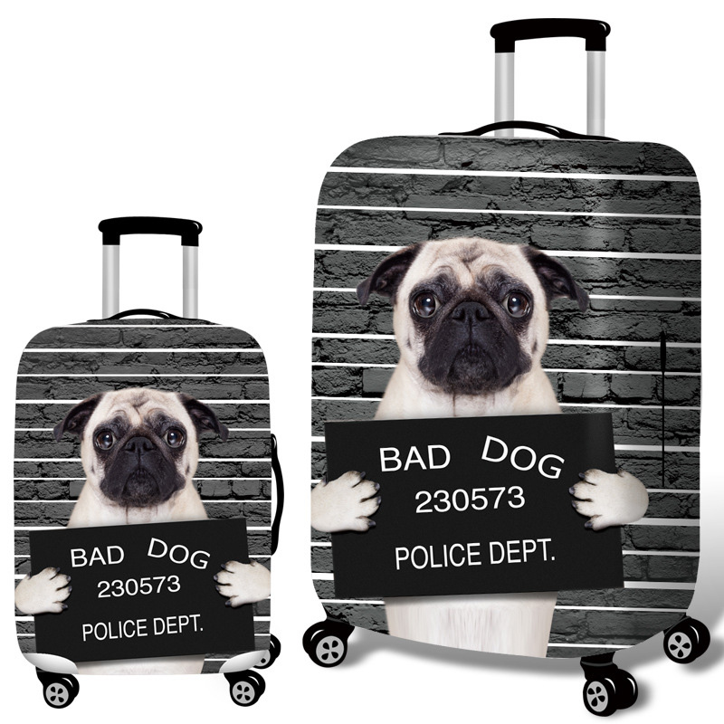 Life-like 3D Pet Pattern Suitcase  2