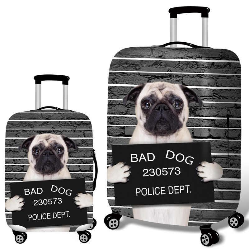 Dier 3D Kat Hond Bagage Beschermhoes 18-32Inch Koffer Elastische Case Covers Bagage Trolley Stofkap Reizen accessoires