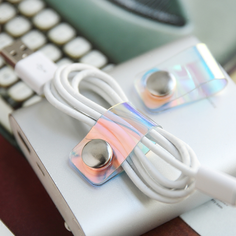 Portable Winder Table Storage Buckle Wire Holder Papel Binder Clips Office Accessories Wonder Clips Cute Gift