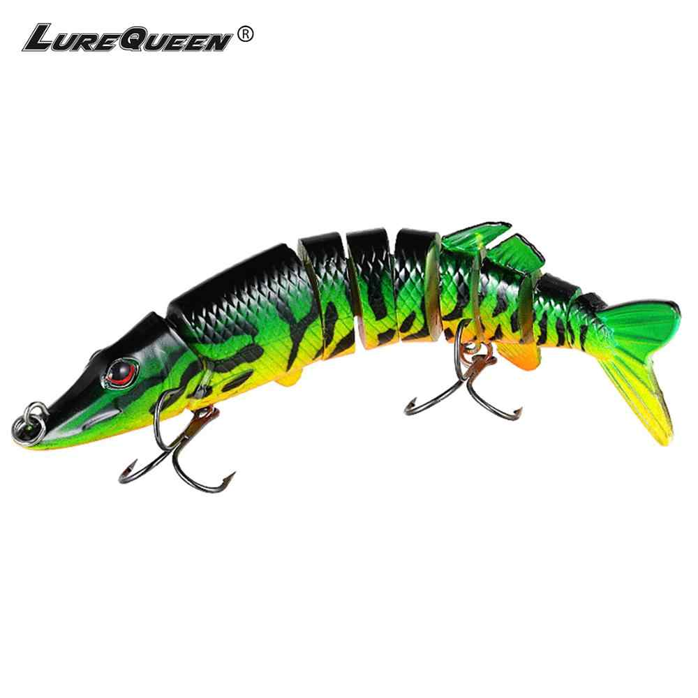 Pike Fishing Lure 9cm~30cm Multi Jointed Bait Lures Bass Swimbait Hard Bait Fishing Tackle Wobblers Crankbait Pesca