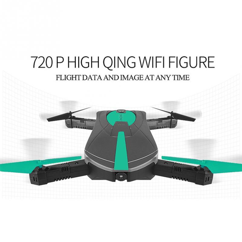 купить Mini Wifi FPV Drone Foldable Pocket RC Quadcopter - BNF 2.0MP/0.3MP HD Camera 360 Rolling 2.4G 6Axis RC MIni Drone With Camera недорого