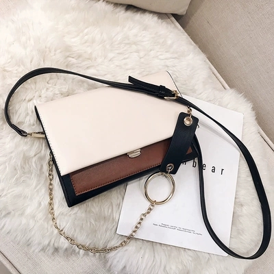 ebffca4e4e NEW Style brand vintage famous brand Minimalist Crossbody Bag Shoulder bag  messenger diamond Chain Puzzle Ring bags for women -in Shoulder Bags from  Luggage ...
