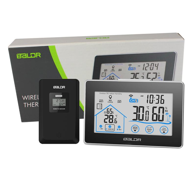 top 8 most popular wireless lcd temperature thermometer