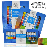 Winsor & Newton Suluboya boyalar boyama malzemeleri 12/18/24 renkler 10 ml/parça