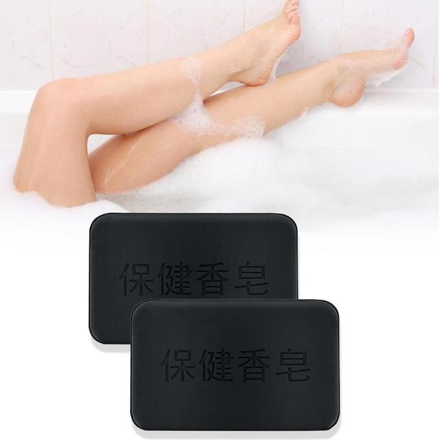 40g Black Bamboo Charcoal Soap Face Body Clear Anti Bacterial Tourmaline Remover Acne Soap Charcoal Savon Propolis Charcoal Soap 3