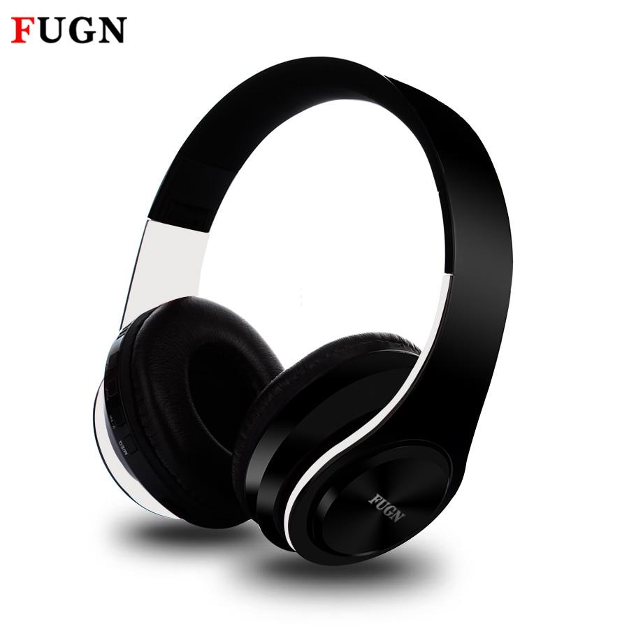 FUGN FG-69 Bluetooth Stereo Wireless Headphones Bluetooth 4.2 Headset Foldable Design Build-in Mic Handfree MP3 player ks 509 mp3 player stereo headset headphones w tf card slot fm black