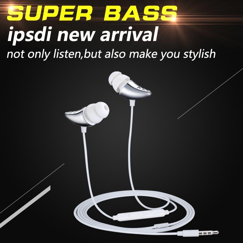 Ipsdi E10 kõrvaklappide kõrva kõrvaklapid mikrofoniga - Kaasaskantav audio ja video - Foto 1