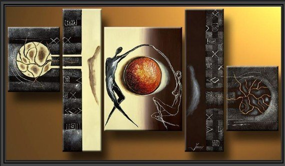 Modern Oil Painting On Canvas abstract painting Guaranteed 100% Free shipping A001