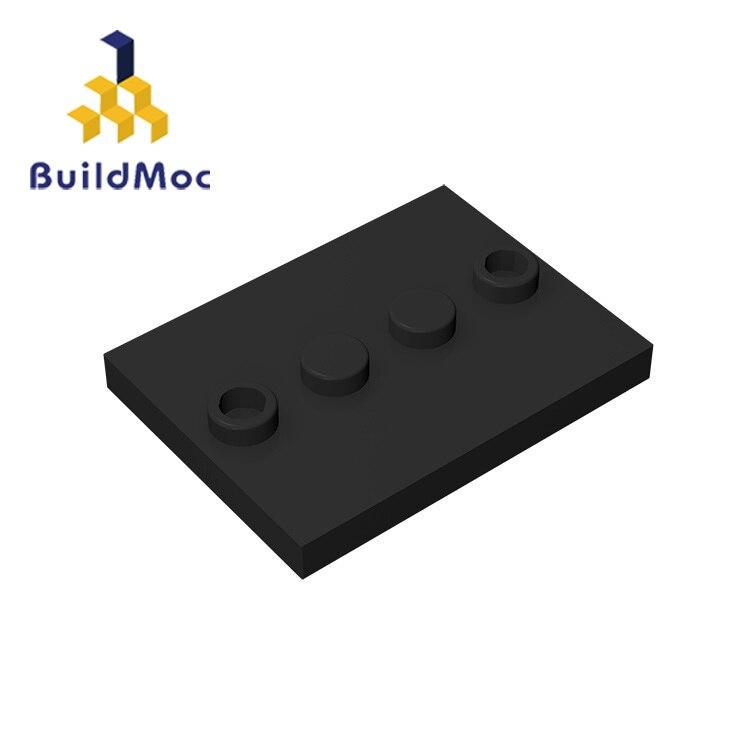 BuildMOC 88646 17836 3x4 Human Base Brick Technic Changeover Catch For Building Blocks Parts DIY Educational Tech Parts Toys